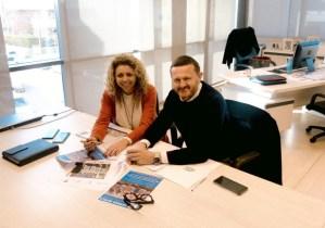 Damon Mark y Magda Ramis