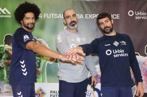 De Oliveira, Marcos Dreyer y Renzo posan juntos (2)