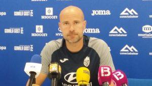 Declaraciones de Xavi Calm entrenador del Atlético Baleares