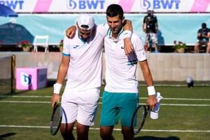 Djokovic y Gomez 230621