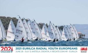 Campeonato de Europa 2021 ILCA6 de Croacia.
