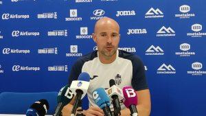 Xavi Calm entrenador del At Baleares