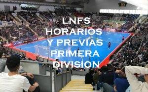 LNFS HORARIOS Y PREVIAS