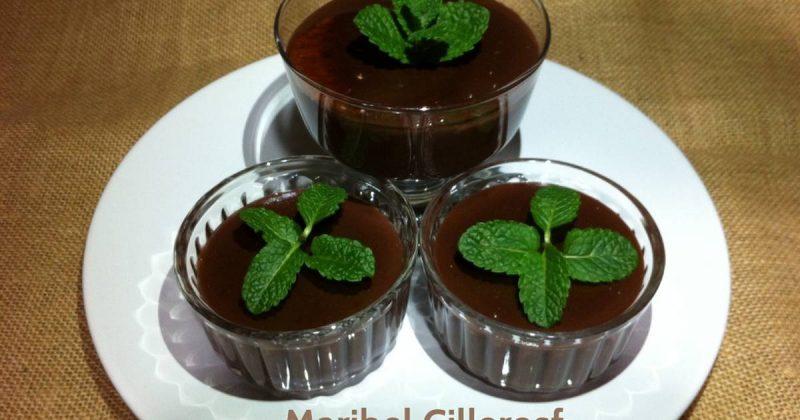 natilla de calabaza y cacao