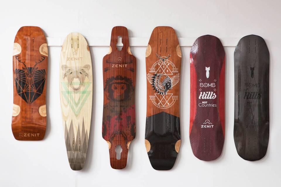 tablas longboard