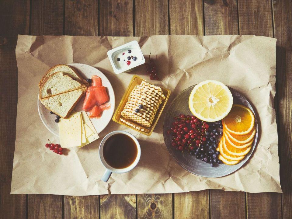 snacks saludables fruta