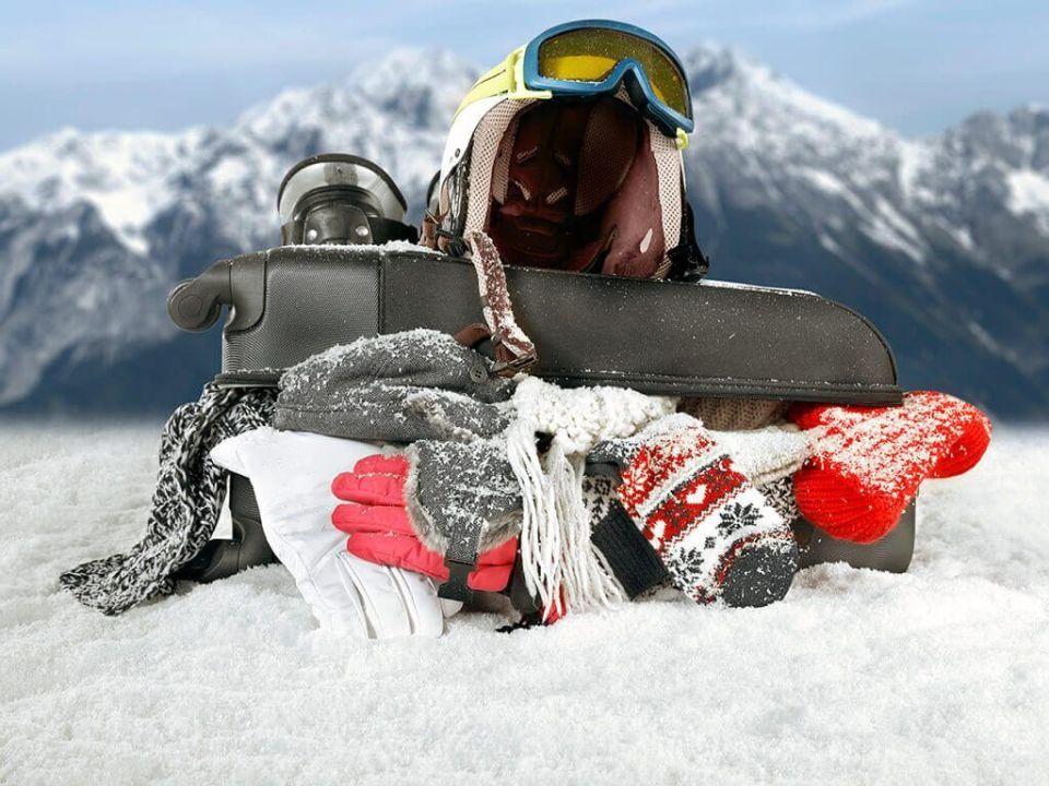 que se necesita para esquiar seguro
