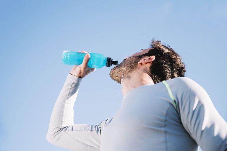 Ginseng en bebidas energéticas para deportistas