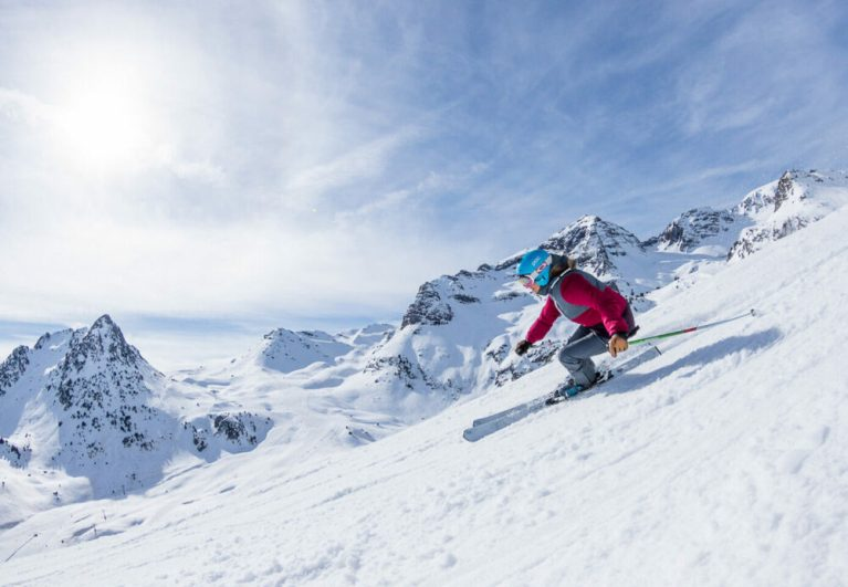 ejercicios para mejorar tu técnica de esquí