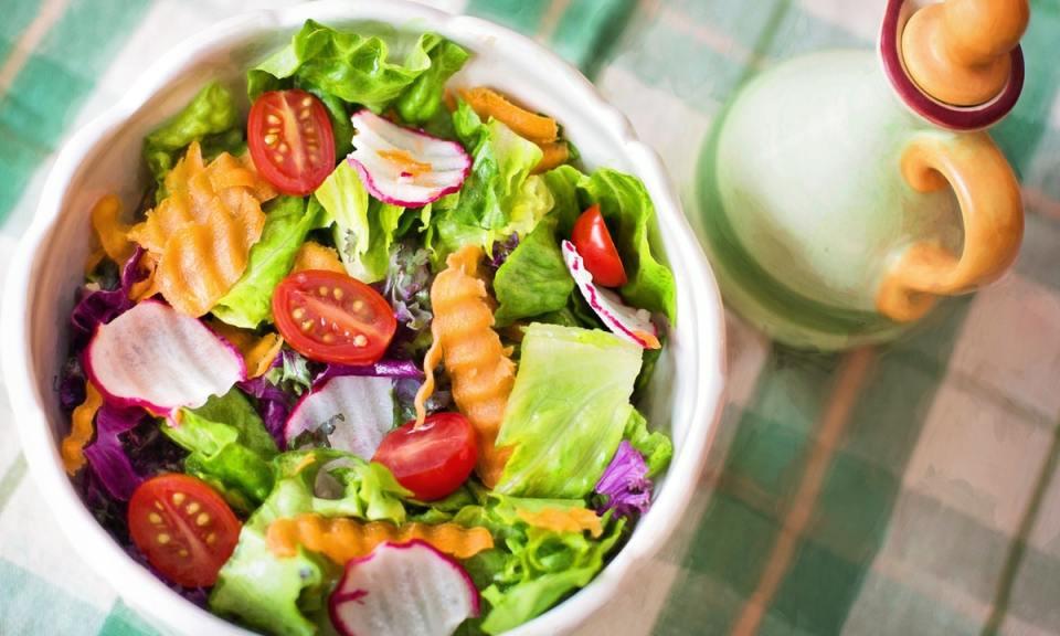 ensalada para dieta