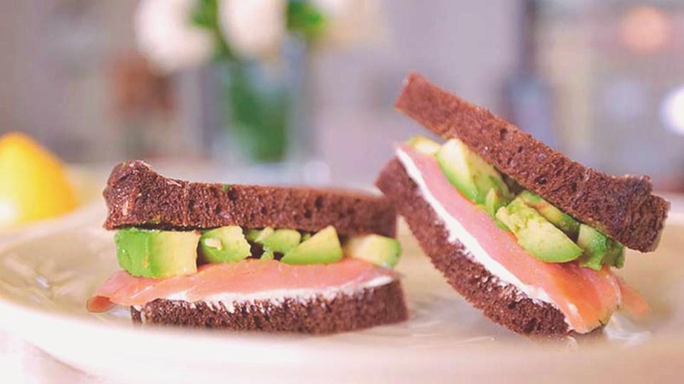 recetas sándwiches saludables salmón