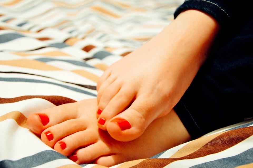 Motivos de tener los pies siempre fríos