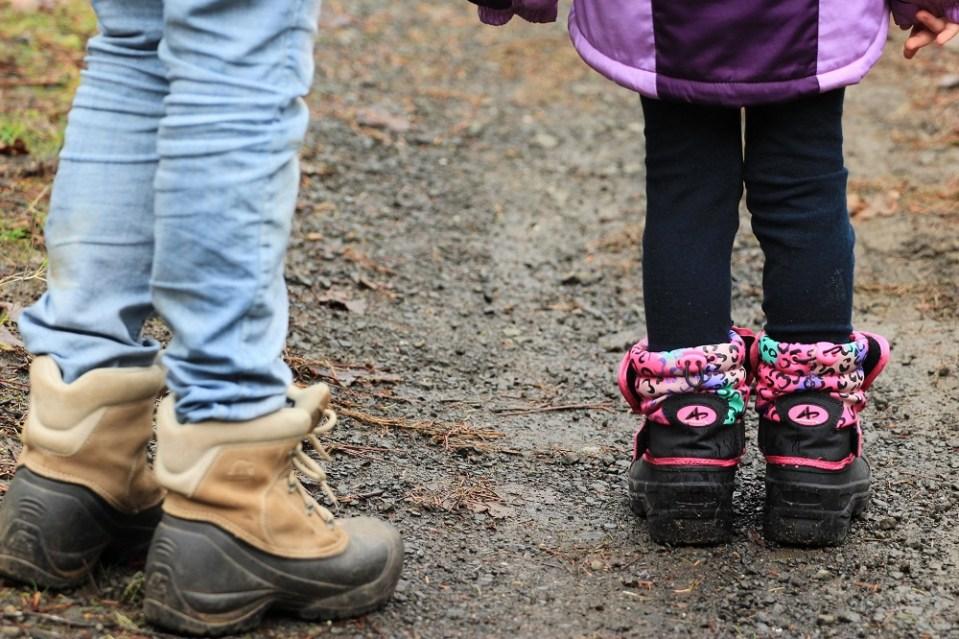 Botas para caminatas