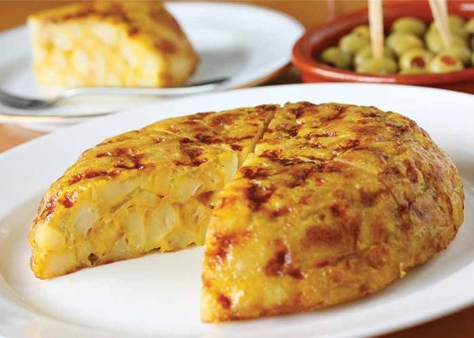 Tortilla de patatas vegana cómo prepararla