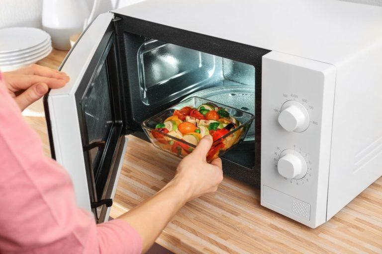 Recetas rápidas y saludables para microondas