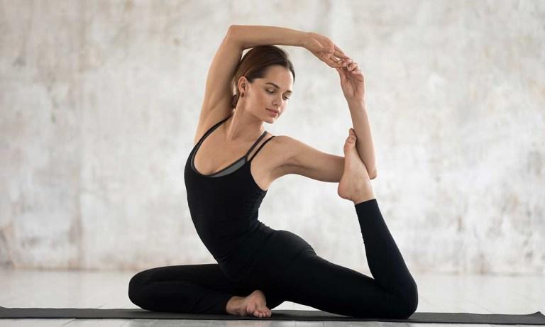 Posturas en yoga