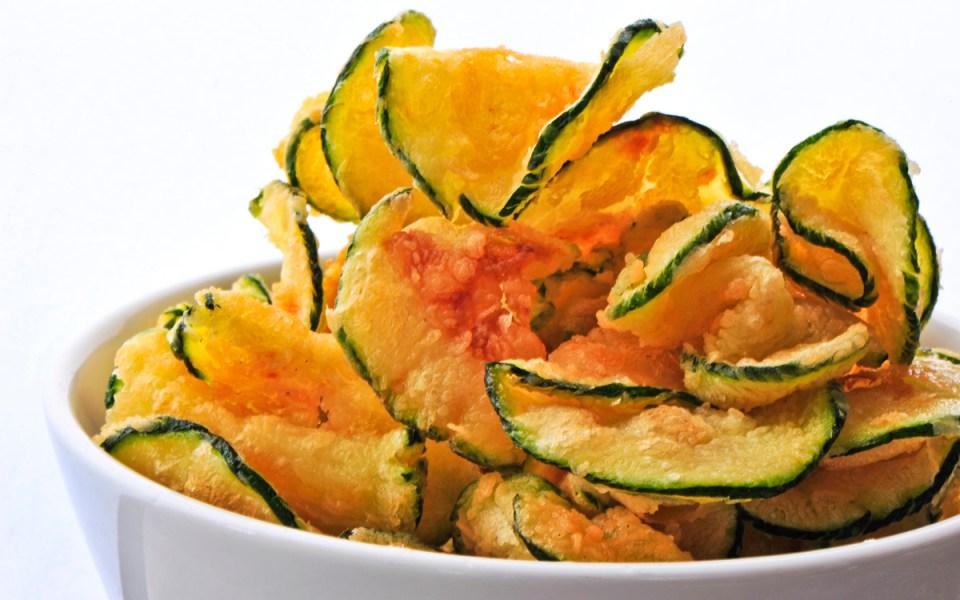 Chips calabacín