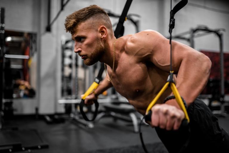 ejercicios con TRX para core