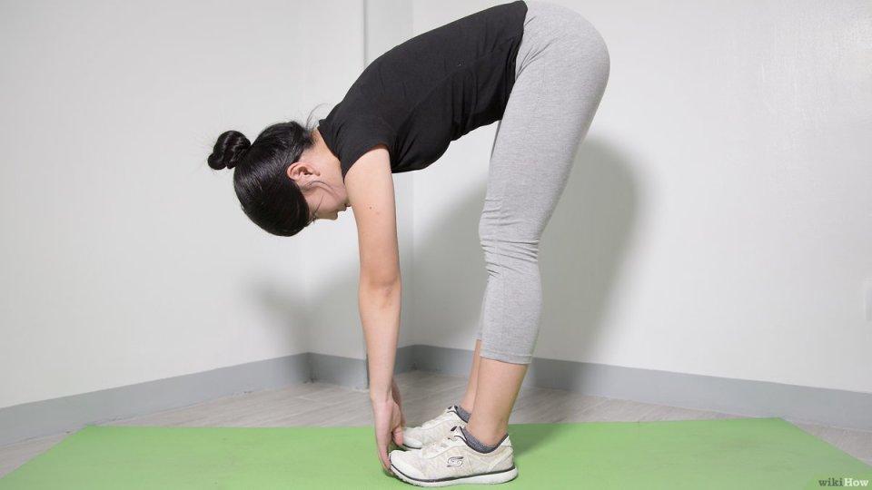 Estirar la espalda
