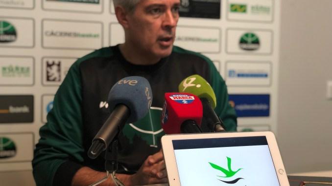 El Cáceres viaja a Bilbao con la ilusión de seguir creciendo