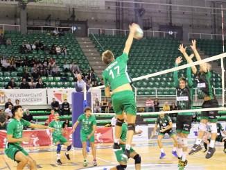 El Extremadura CCPH recibe al Club Vigo Voleibol