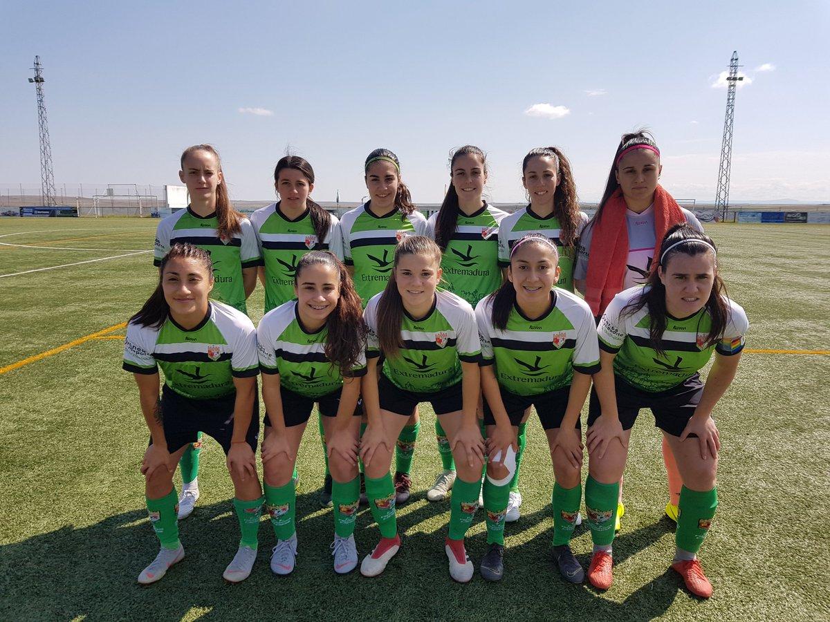 El Femenino Cáceres termina como el segundo mejor tercer clasificado de la Segunda nacional Femenina