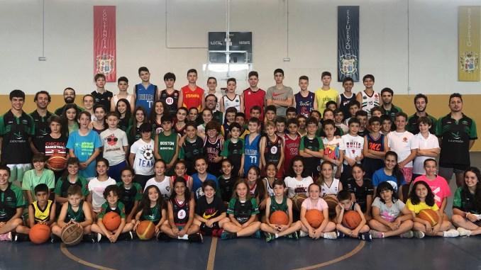 Arranca el XXVIII Campus del San Antonio Cáceres Basket