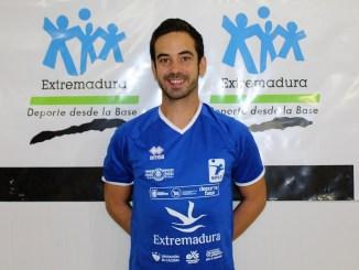 Alejandro Sánchez Rebollo renueva con el Extremadura Cáceres Patrimonio de la Humanidad de Voleibol