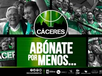 """El Cáceres lanza la campaña """"Abónate por menos..."""""""