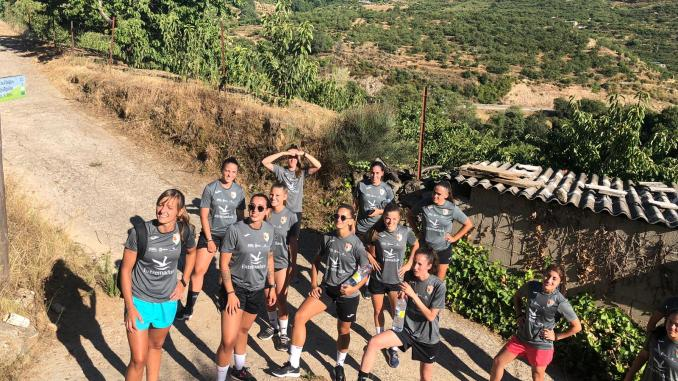 Jornada de convivencia del CF Femenino Cáceres