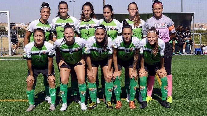 Victoria del C.F Femenino Cáceres ante el Granada C.F por dos goles a cero #LigaRetoIberdrola