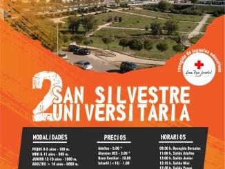 II San Silvestre Solidaria Universitaria en el Campus Universitario de Cáceres