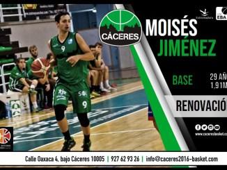El Torta del Casar Extremadura renueva a su base Moises Jiménez