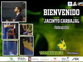 Jacinto Carbajal dirigirá el banquillo del Alter Enersun Al-Qázeres Extremadura para la temporada 20/21