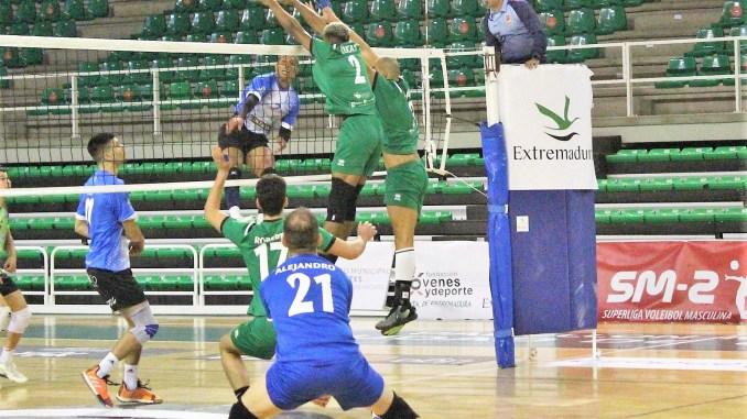 Importante victoria del Extremadura Cáceres Patrimonio por 3-0 ante San Sandurniño