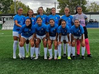 Victoria del Femenino Cáceres en el primer partido de pretemporada ante el C.D Parquesol