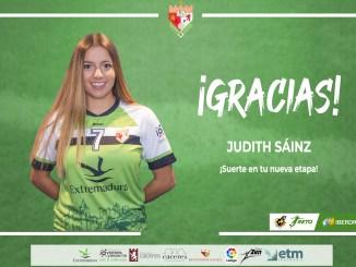 Judith Sainz abandona la disciplina del Femenino Cáceres