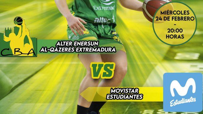 Alter Enersun Al-Qázeres Extremadura vs Movistar Estudiantes