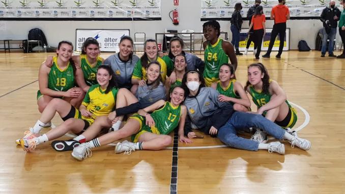dos victorias para el filial del Alter Enersun Al-Qázeres Extremadura