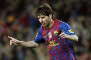 Leo Messi conquistó el Pichichi 2011 2012 de máximo goleador de la Liga Española en 2012 con 50 goles