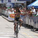 Diego Báez comenzó la Vuelta a Chiapas