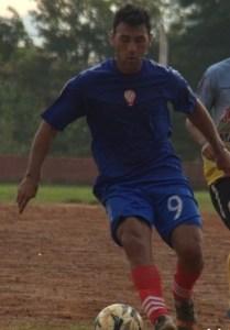 Roque Galeano, delantero de Huracán