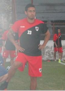 Enzo Bruno está en duda para enfrentar a Chacarita Juniors el miércoles