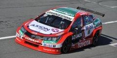 Matías Rossi y Gabriel Poce de León con el Toyota ganaron los 200 kilómetros en La Pampa