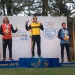 Malarczuk sumó su segunda medalla en los Odesur