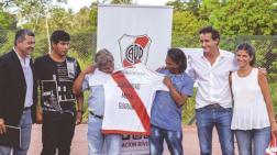 """El gran gesto solidario del """"Pity"""" Martínez"""