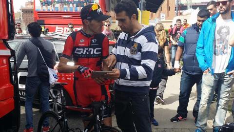 """Samuel Sánchez """"Samu"""" – Campeón Olímpico ciclismo en Pekín 2008. Ciclista del BMC racing team y ex líder del Euskaltel. Podium en el Tour de France, Giro de Italia y Vuelta ciclista a España."""