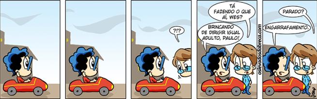 Os Levados da Breca #836 - Que nem adulto