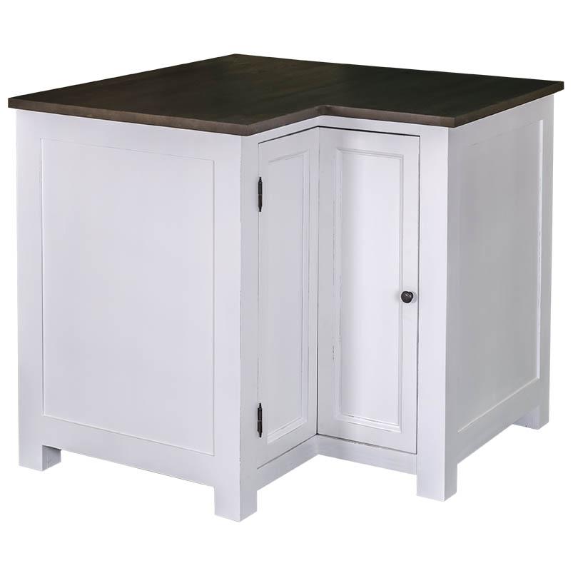 meuble bas d angle de cuisine romane 98 98 x65x90 cm