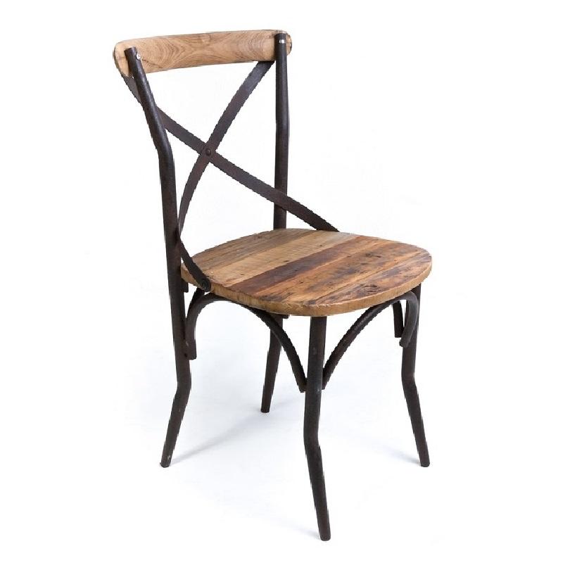 chaise bistrot de style vintage industrielle